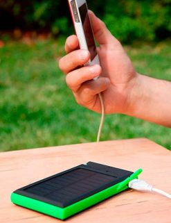 Cargador Power Bank Solar